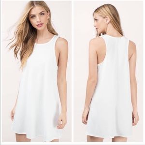 NEW Tobi Ivory Tank Dress